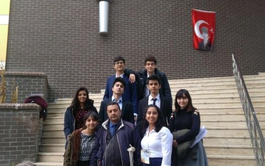 LİSELİLERİMİZ TED KAYSERİ ULUSAL GENÇLİK FORUM'NA KATILDI