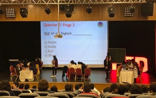 Liseli Öğrencilerimiz Bilgi Yarışmasında (Our High School's Students are in Quiz Show)