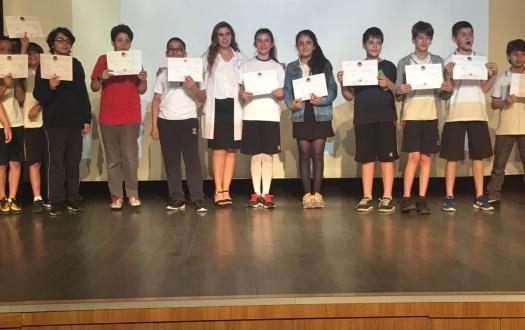 TED'li Öğrenciler Fen Bilirim Okul Turnuvasında