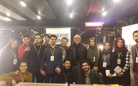"""İnönü Üniversitesi II. Edebiyat Günlüklerine Katıldık """"We Participated In The II. Inonu University Literature Days"""""""