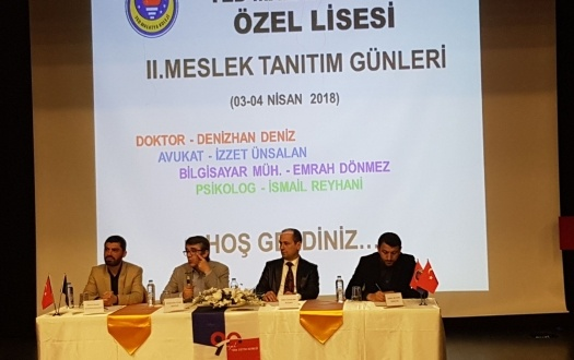 Lisemizde II. Meslek Tanıtım Günleri Yapıldı(The 2nd Profession Presentation Days were performed in our High School)