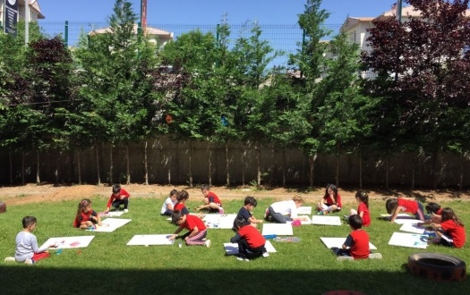 ANA SINIFI ÖĞRENCİLERİ AÇIK SINIF UYGULAMASINDA (KINDERGARTEN STUDENTS DID AN OPEN CLASS ACTIVITY)