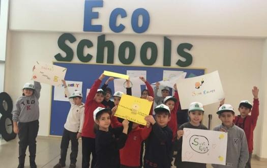 Eco Schools Projemizde Enerji Konusuna Dikkat Çektik