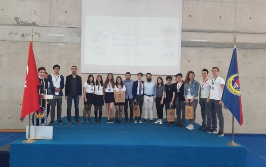 "Lisemizin TED İnovasyon ve Girişimcilik Fuarı'ndaki Başarısı ""The Success of Our High School in TED Innovation and Entrepreneurship Fair"""