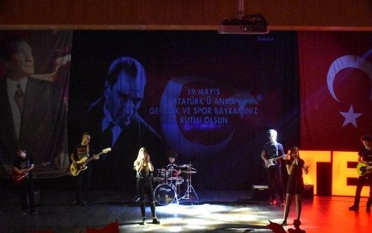 19 MAYIS ATATÜRK'Ü ANMA, GENÇLİK VE SPOR BAYRAMI COŞKUYLA KUTLANDI (The 19th May Commemoration of Atatürk Youth and Sports Day was celebrated with enthusiasm )