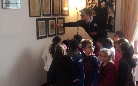 TED Malatya Koleji Özel İlkokulu Öğrencilerinden Atatürk Evine Ziyaret