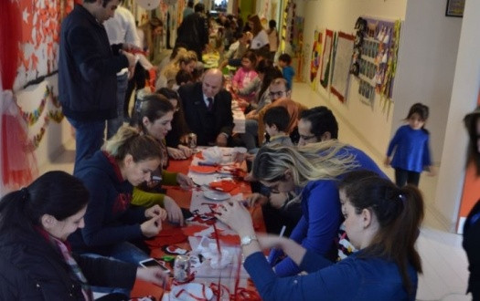 ANA SINIFI VELİLERİMİZLE WORKSHOP ETKİNLİĞİ(We did the family involvement activity with kindergarten parents)