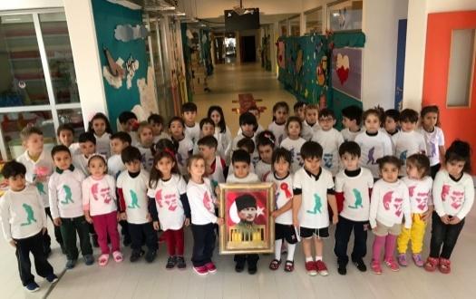 Anasınıfı Öğrencilerimiz Atatürk'ü Andılar