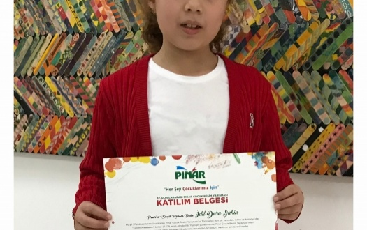 "Minik Ressamlarımızın Başarısı ""Success Of Our Junior Artists"""